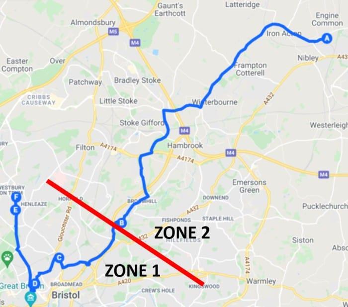 School Hopper Map 2 with Zones